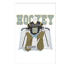 Hockey Goalie Postcards (Package of 8)