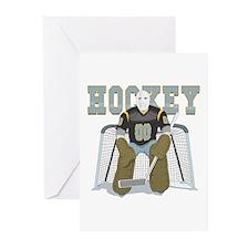 HOCKEY GOALIE Greeting Cards (Pk of 10)