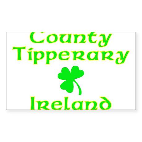 County Tipperary, Ireland Rectangle Sticker