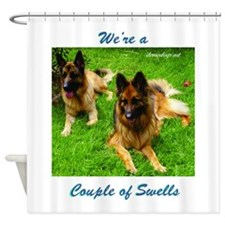 Were a Couple of Swells Shower Curtain