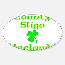 County Sligo, Ireland Oval Decal