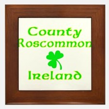 County Roscommon, Ireland Framed Tile
