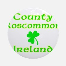 County Roscommon, Ireland Ornament (Round)