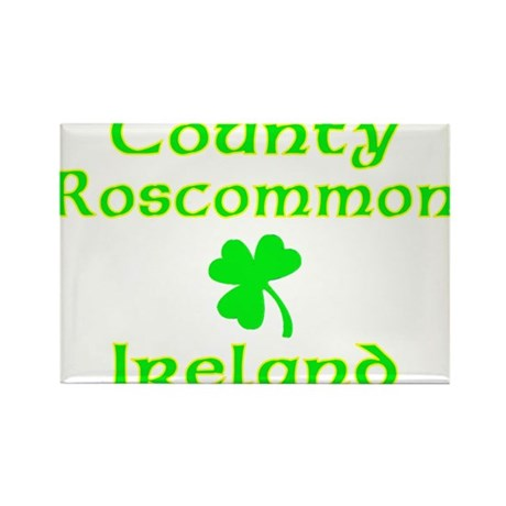 County Roscommon, Ireland Rectangle Magnet (10 pac