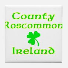 County Roscommon, Ireland Tile Coaster