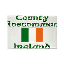 County Roscommon, Ireland Rectangle Magnet (100 pa