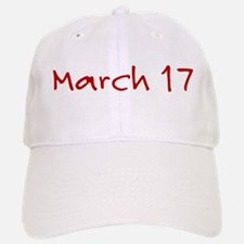 March 17 Baseball Baseball Cap