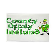 County Offaly, Ireland Rectangle Magnet (100 pack)