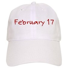 February 17 Baseball Cap