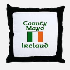 County Mayo, Ireland Throw Pillow