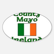County Mayo, Ireland Oval Decal