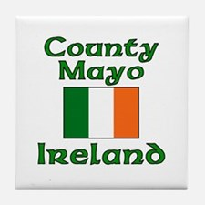 County Mayo, Ireland Tile Coaster
