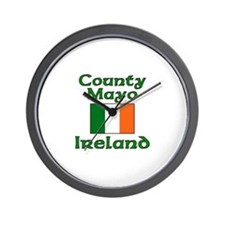 County Mayo, Ireland Wall Clock