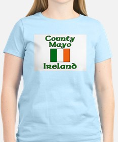 County Mayo, Ireland Women's Pink T-Shirt