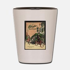 Columbia Bicycles old Vintage Advertisi Shot Glass