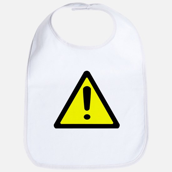 Exclamation Point Caution Sign Bib