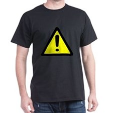 Exclamation Point Caution Sign T-Shirt