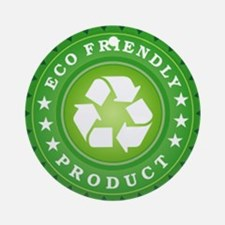 ECO Friendly Product Ornament (Round)
