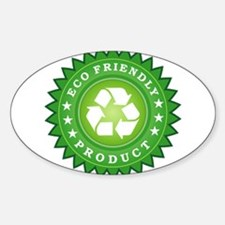 ECO Friendly Product Decal