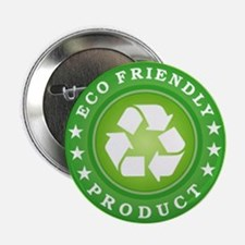 "ECO Friendly Product 2.25"" Button"