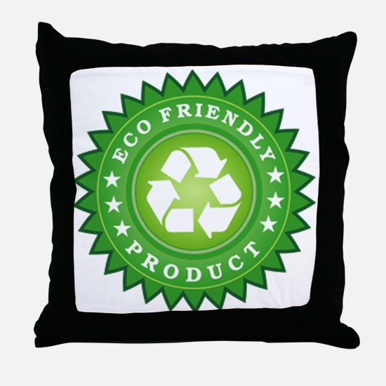 ECO Friendly Product Throw Pillow