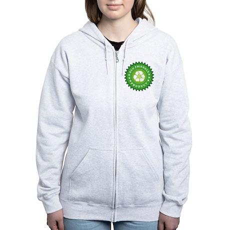 ECO Friendly Product Zip Hoodie
