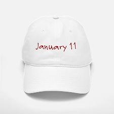 January 11 Baseball Baseball Cap