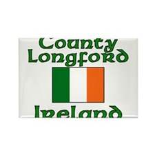 County Longford, Ireland Rectangle Magnet (100 pac