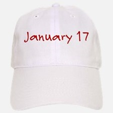 January 17 Baseball Baseball Cap