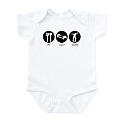 Eat Sleep Skate Infant Bodysuit