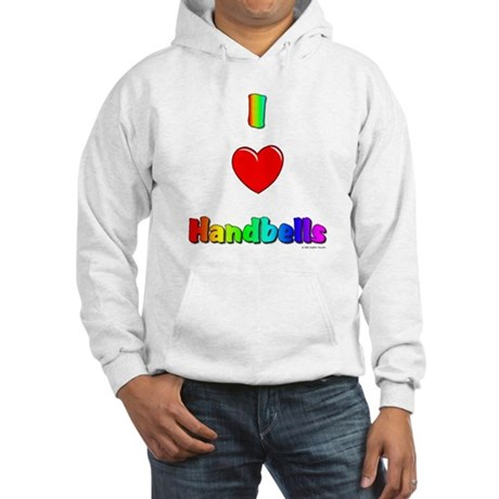 I love handbells Hooded Sweatshirt