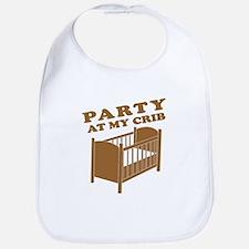 Party at My Crib Tee Bib