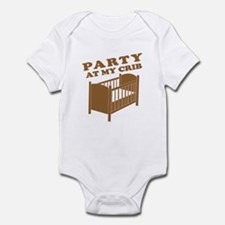 Party at My Crib Tee Infant Bodysuit