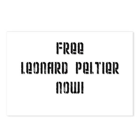 Free Leonard Peltier Postcards (Package of 8)