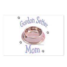Gordon Setter Mom Postcards (Package of 8)