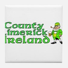 County Limerick, Ireland Tile Coaster