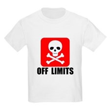OFF LIMITS Kids T-Shirt