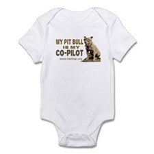 Pit Bull Pilot Infant Bodysuit