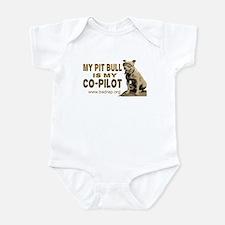Pit Bull Pilot Infant Bodysuit