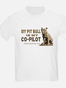 Pit Bull Pilot Kids T-Shirt