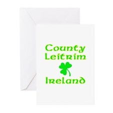 County Leitrim, Ireland Greeting Cards (Package of