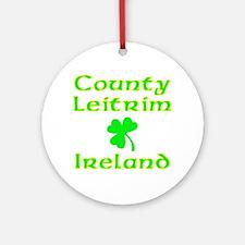 County Leitrim, Ireland Ornament (Round)