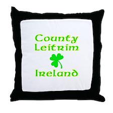 County Leitrim, Ireland Throw Pillow