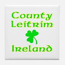 County Leitrim, Ireland Tile Coaster