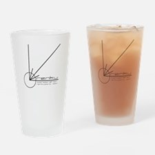 RenkuCorporationLogo Drinking Glass