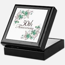 50th Anniversary Keepsake Keepsake Box