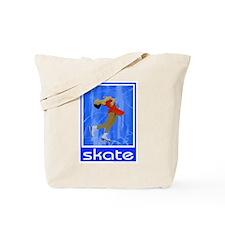 Figure Skating 'Skate' Layback Tote Bag