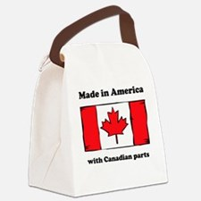 Made In America With Canadian Parts Canvas Lunch B