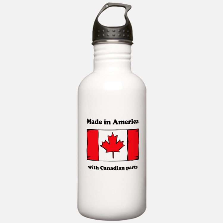 Made In America With Canadian Parts Sports Water B