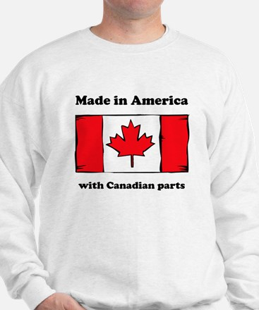 Made In America With Canadian Parts Jumper